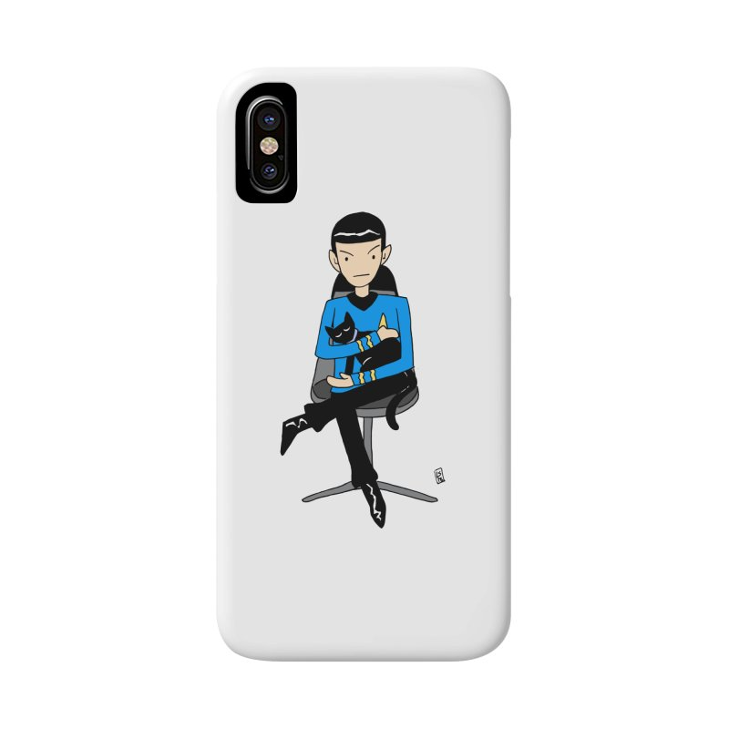 Live Long and Pawspurr Accessories Phone Case by Lee Draws Stuff