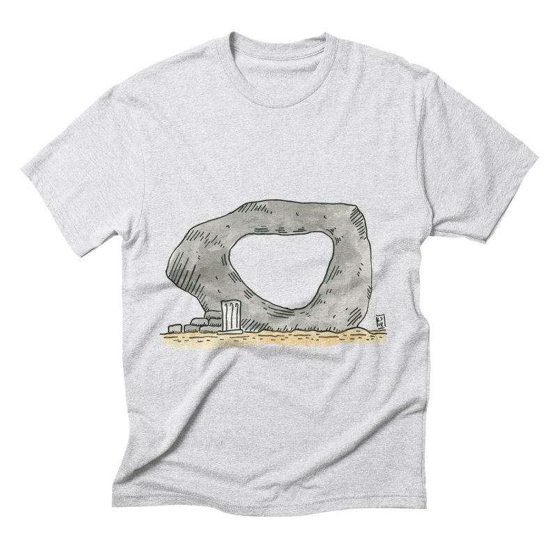Waiting for a question Men's Triblend T-Shirt by Lee Draws Stuff