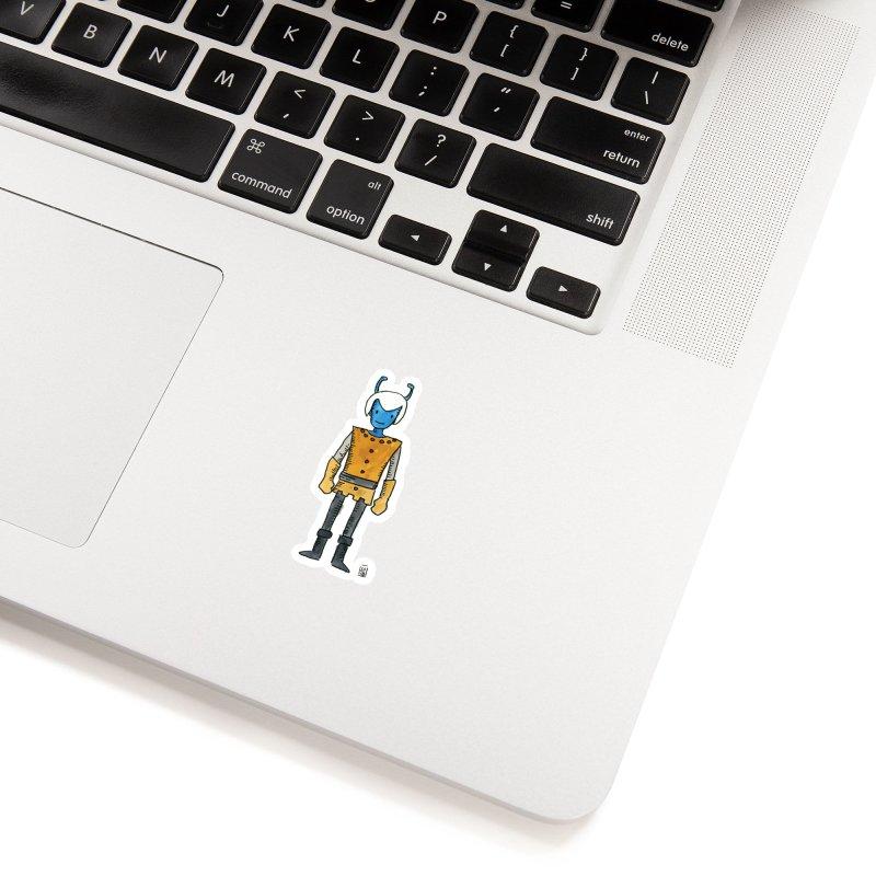 Blue Skin Accessories Sticker by Lee Draws Stuff