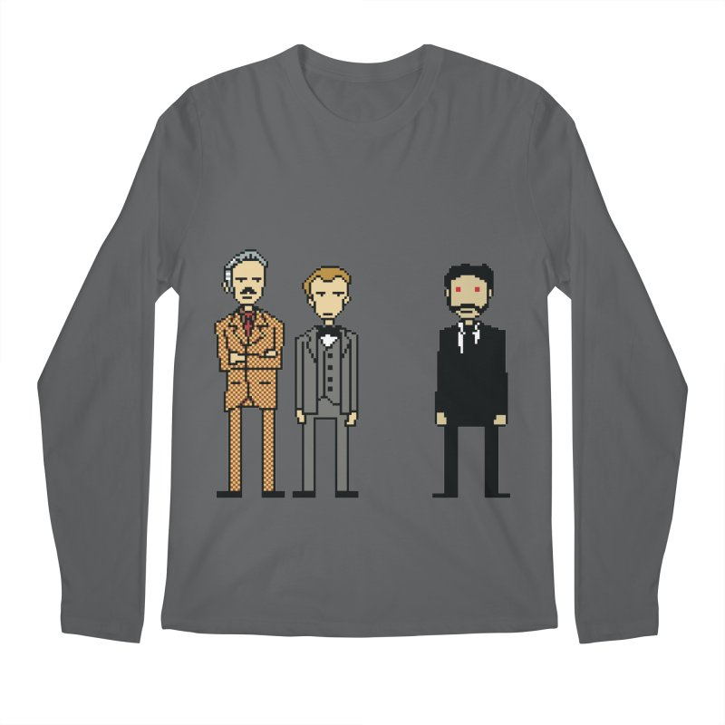 Confronting an ancient evil Men's Longsleeve T-Shirt by Lee Draws Stuff