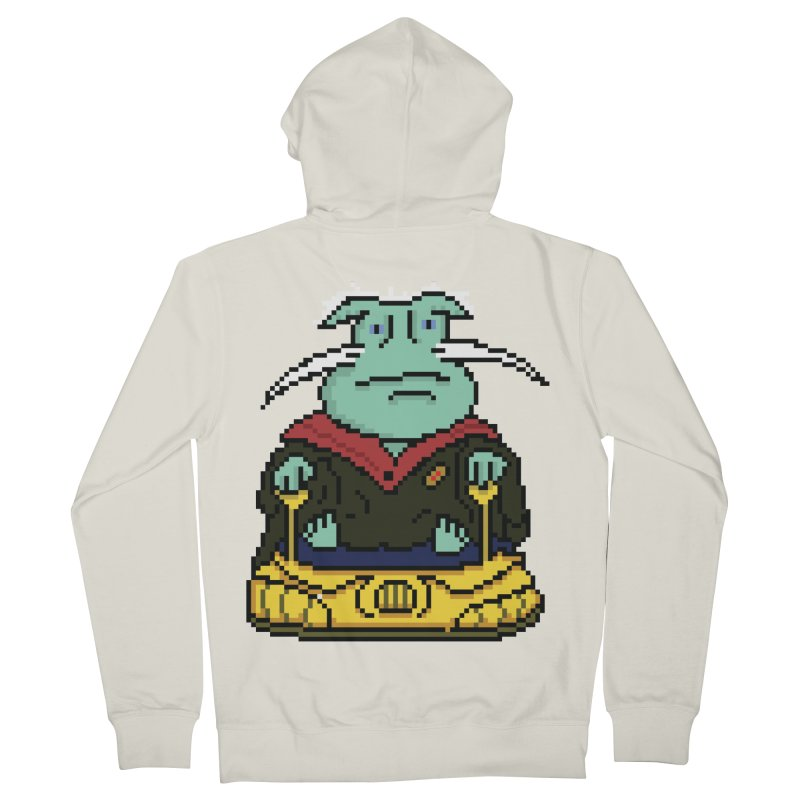 The 8Bit Dominar Women's French Terry Zip-Up Hoody by Lee Draws Stuff