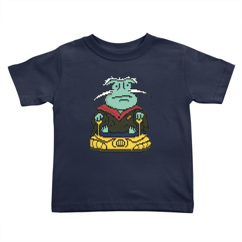 The 8Bit Dominar Kids Toddler T-Shirt by Lee Draws Stuff