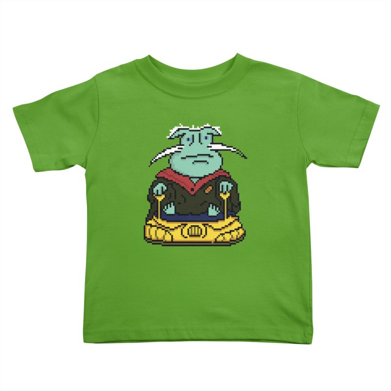 The 8Bit Dominar Kids Toddler T-Shirt by Lee Draws Stuff