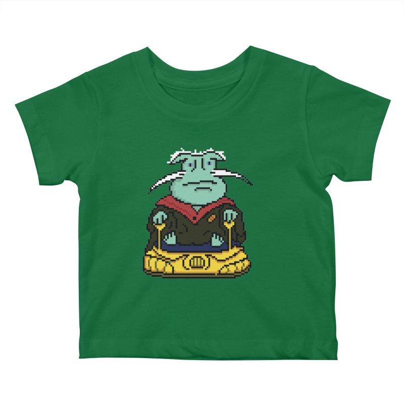The 8Bit Dominar Kids Baby T-Shirt by Lee Draws Stuff