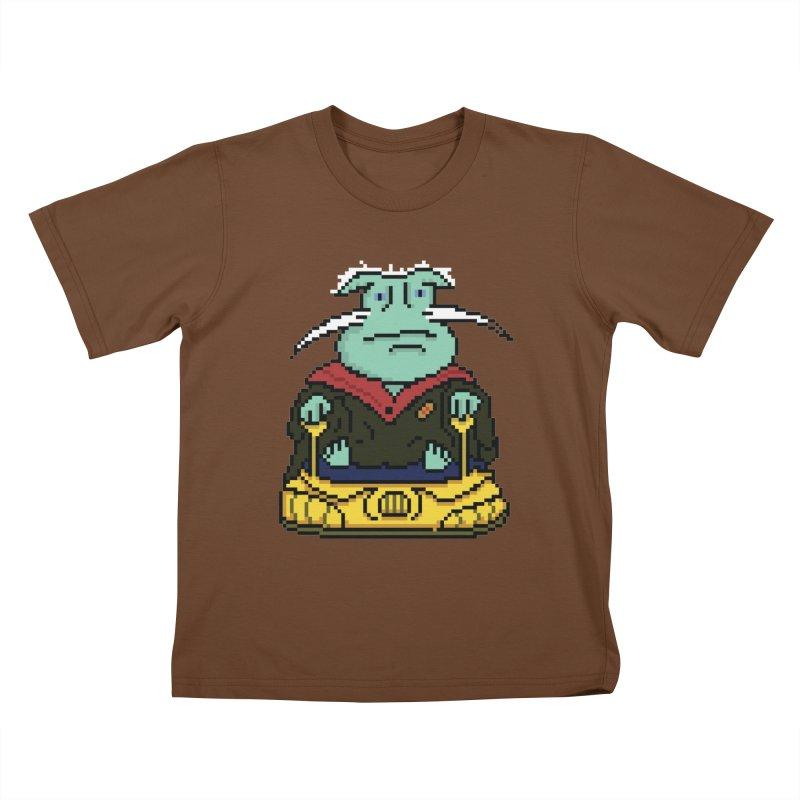 The 8Bit Dominar Kids T-Shirt by Lee Draws Stuff