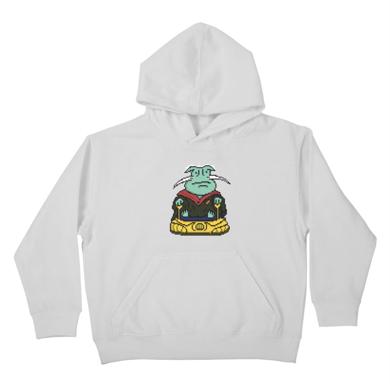 The 8Bit Dominar Kids Pullover Hoody by Lee Draws Stuff