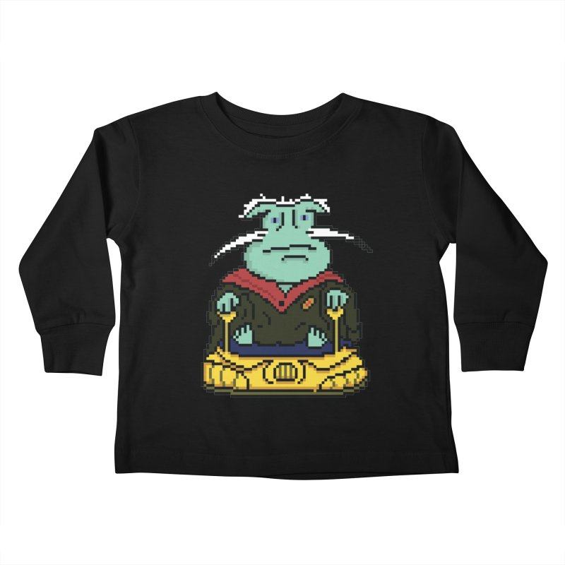 The 8Bit Dominar Kids Toddler Longsleeve T-Shirt by Lee Draws Stuff