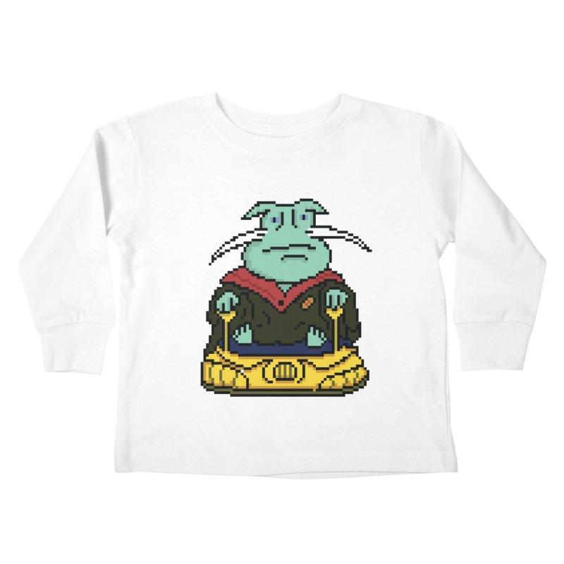 The 8Bit Dominar Kids Toddler Longsleeve T-Shirt by Lee Draws Stuff
