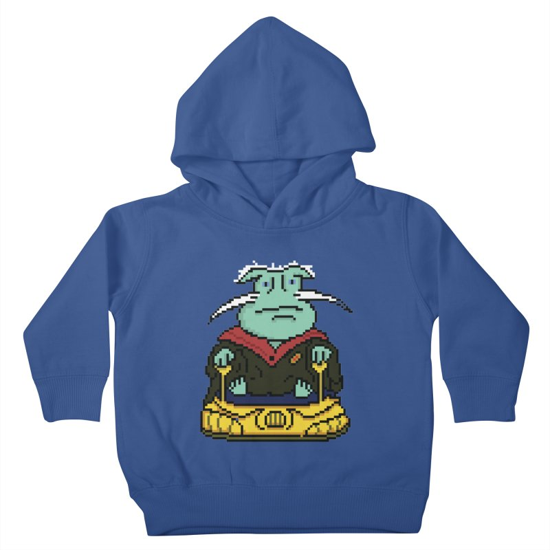 The 8Bit Dominar Kids Toddler Pullover Hoody by Lee Draws Stuff