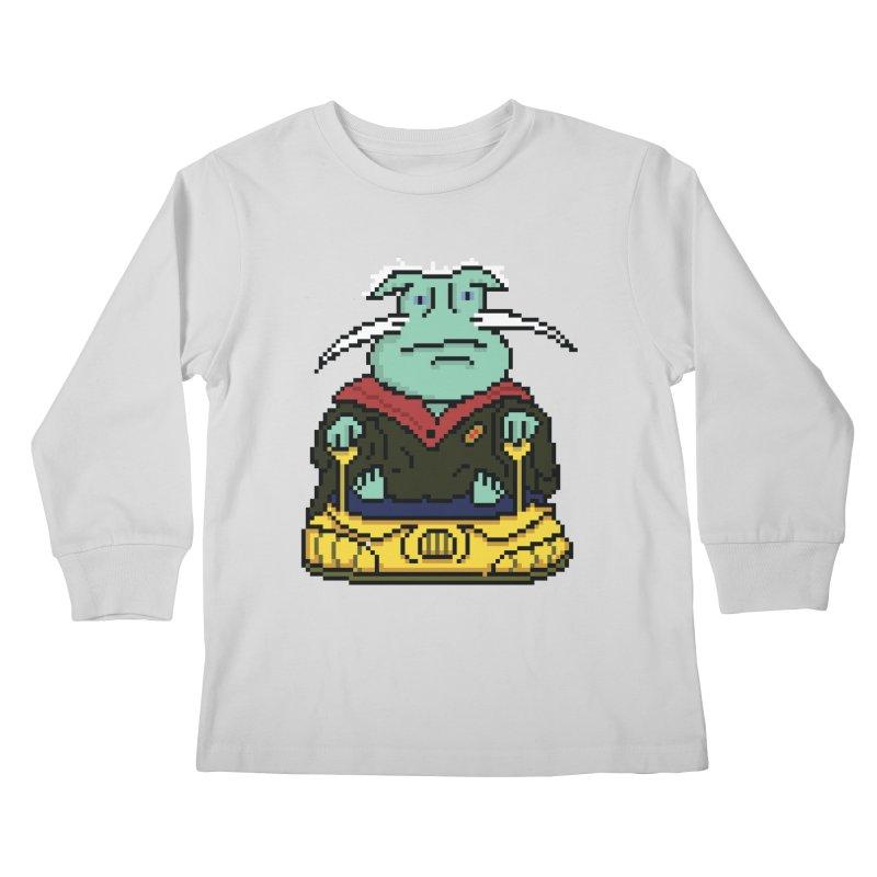 The 8Bit Dominar Kids Longsleeve T-Shirt by Lee Draws Stuff