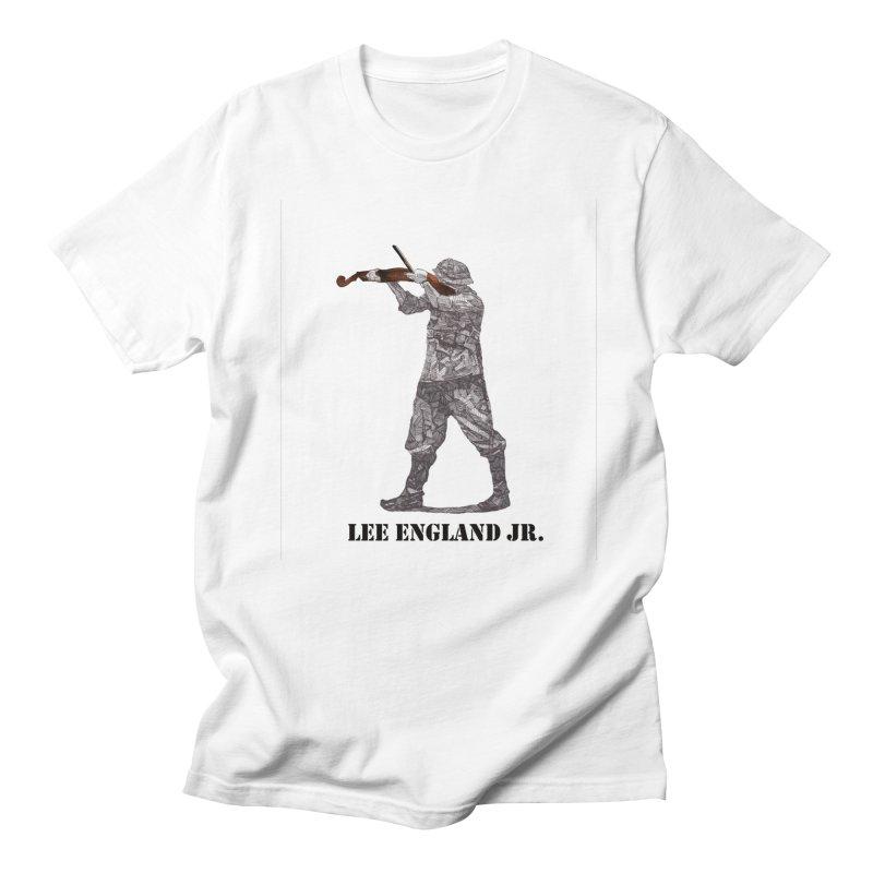 Music is my weapon Men's T-Shirt by leeenglandjr's Artist Shop