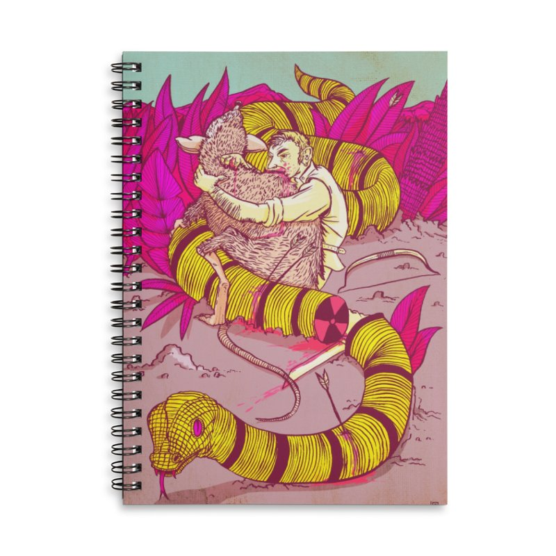 Survival Accessories Lined Spiral Notebook by leegrace.com