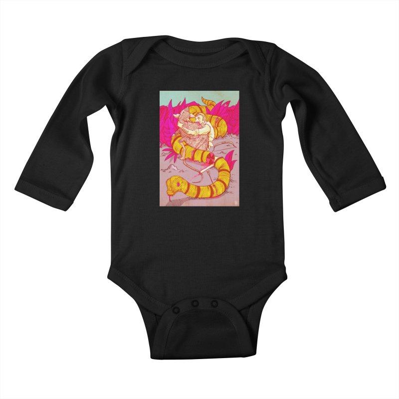 Survival Kids Baby Longsleeve Bodysuit by leegrace.com