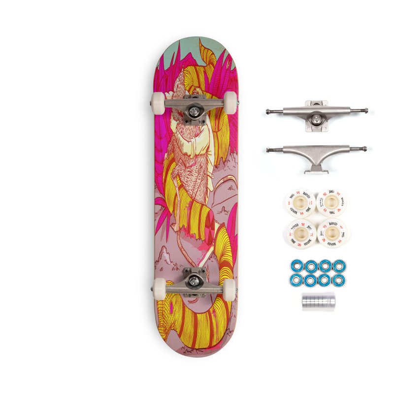 Survival Accessories Complete - Premium Skateboard by leegrace.com