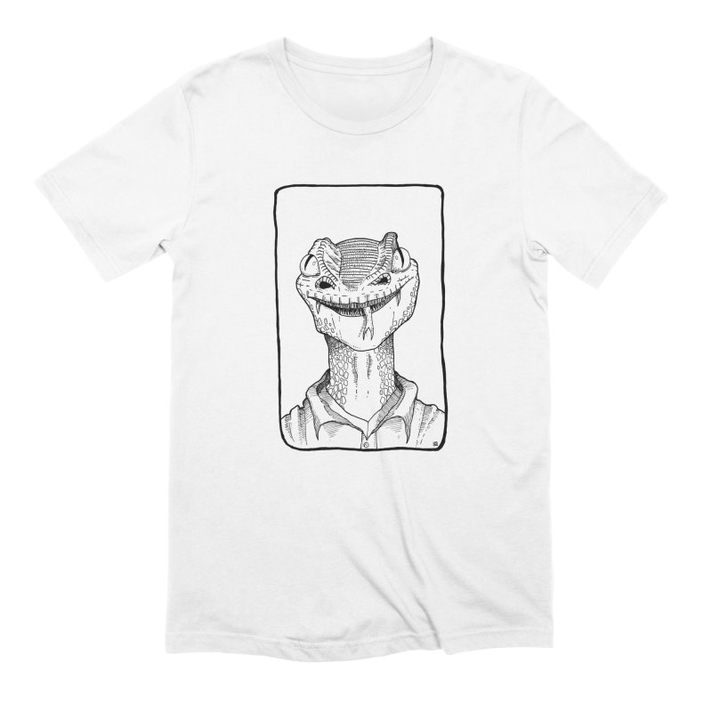 Poisonous in Men's Extra Soft T-Shirt White by leegrace.com