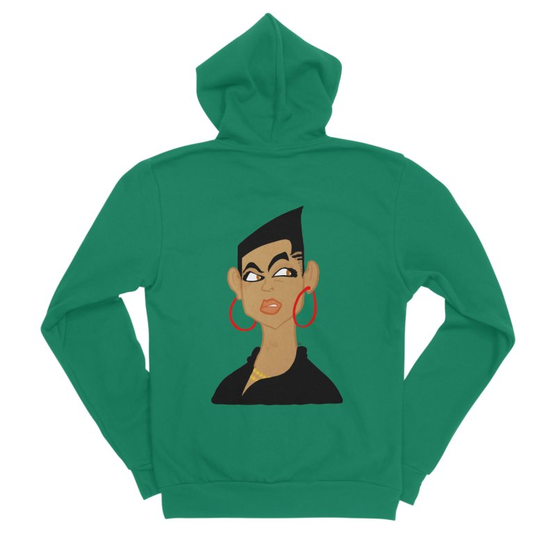 Angular Men's Sponge Fleece Zip-Up Hoody by leegrace.com