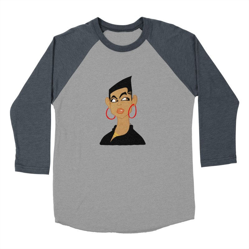 Angular Men's Baseball Triblend Longsleeve T-Shirt by leegrace.com