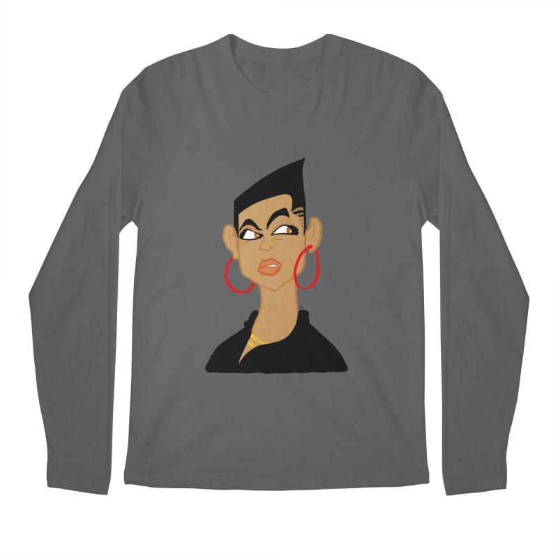 Angular Men's Longsleeve T-Shirt by leegrace.com