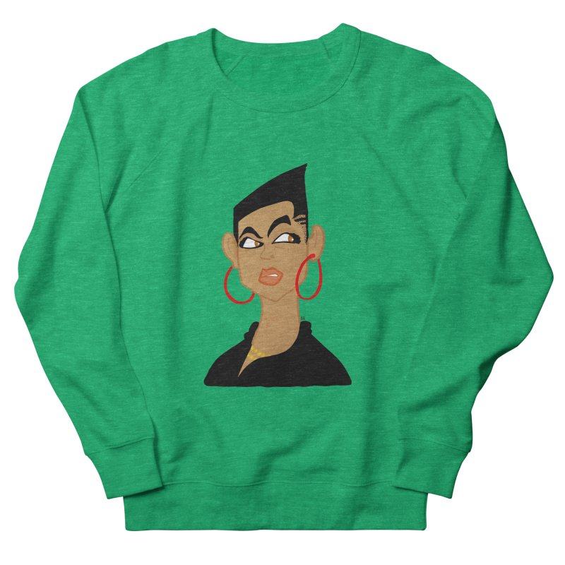 Angular Men's French Terry Sweatshirt by leegrace.com