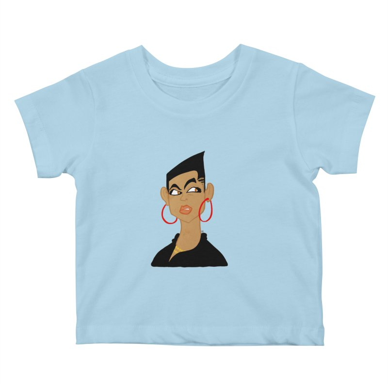 Angular Kids Baby T-Shirt by leegrace.com