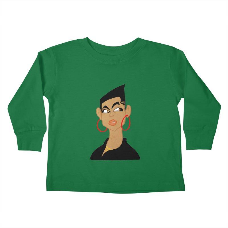 Angular Kids Toddler Longsleeve T-Shirt by leegrace.com