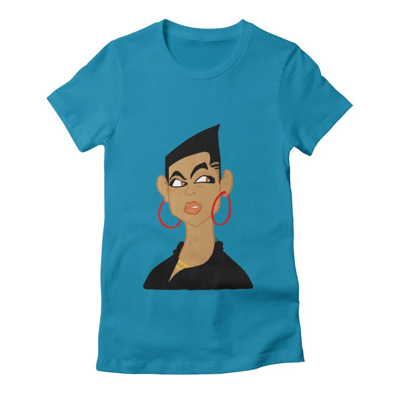 Angular Women's Fitted T-Shirt by leegrace.com