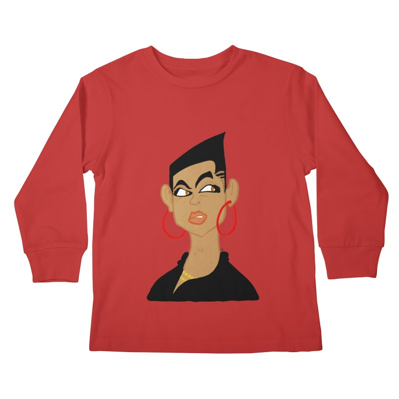 Angular Kids Longsleeve T-Shirt by leegrace.com