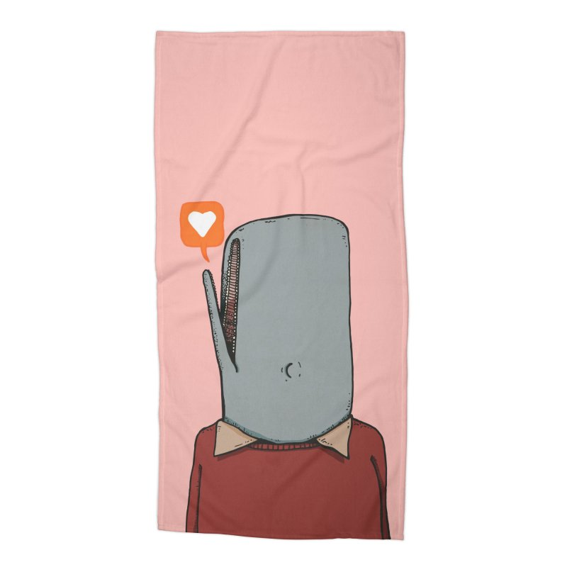 The Love Whale Accessories Beach Towel by leegrace.com