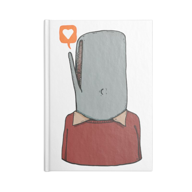 The Love Whale Accessories Notebook by leegrace.com