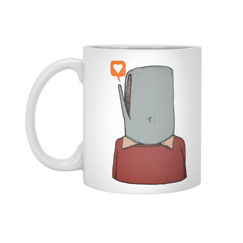 The Love Whale Accessories Standard Mug by leegrace.com