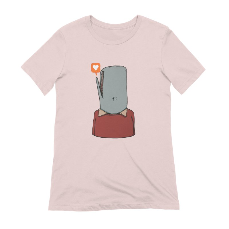 The Love Whale Women's T-Shirt by leegrace.com