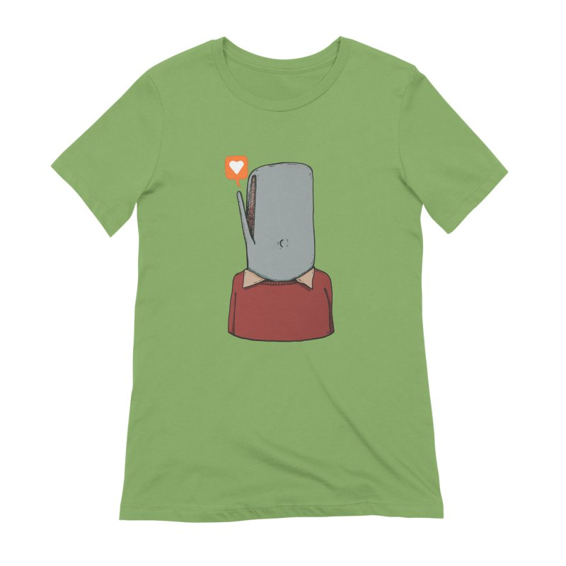 The Love Whale Women's Extra Soft T-Shirt by leegrace.com