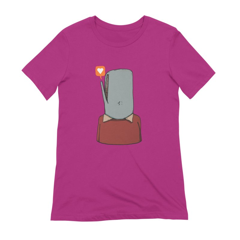 The Love Whale Women's T-Shirt by leegrace.com
