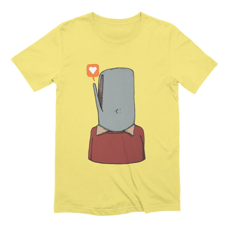 The Love Whale Men's Extra Soft T-Shirt by leegrace.com
