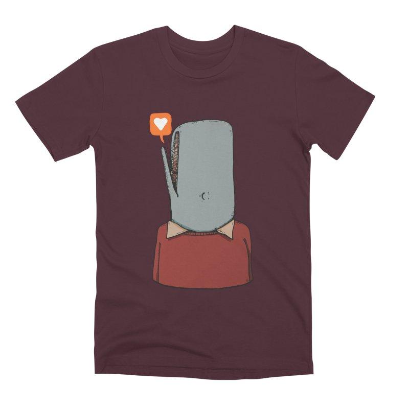 The Love Whale Men's Premium T-Shirt by leegrace.com