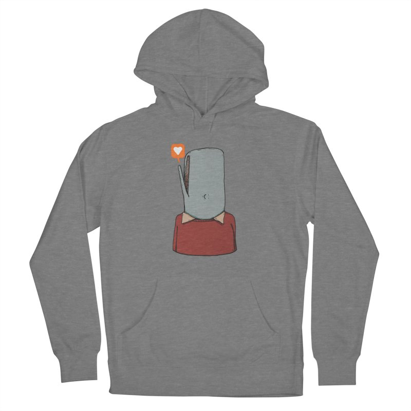 The Love Whale Women's Pullover Hoody by leegrace.com