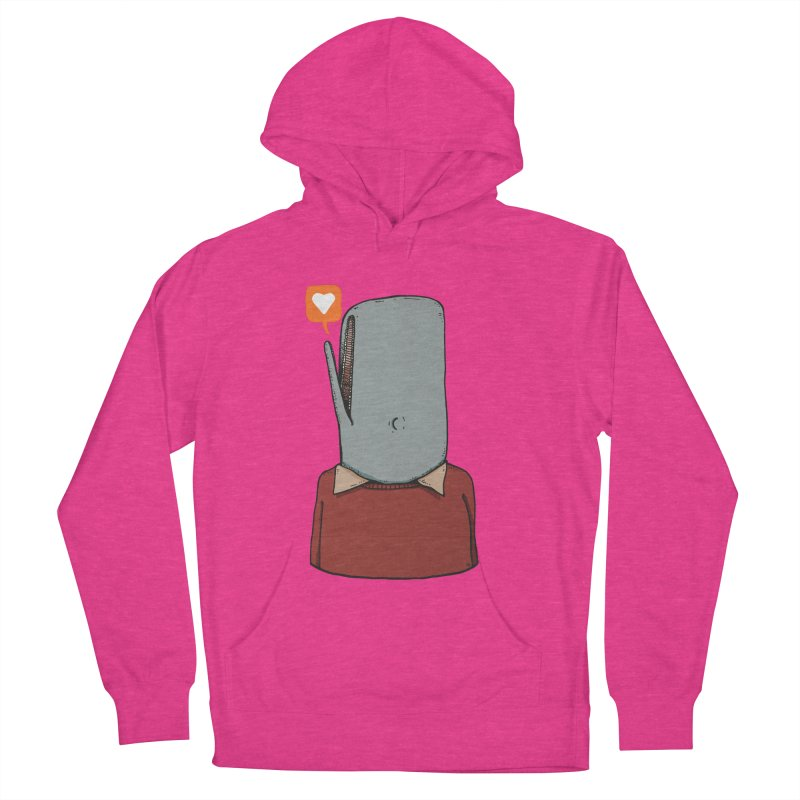 The Love Whale Women's French Terry Pullover Hoody by leegrace.com