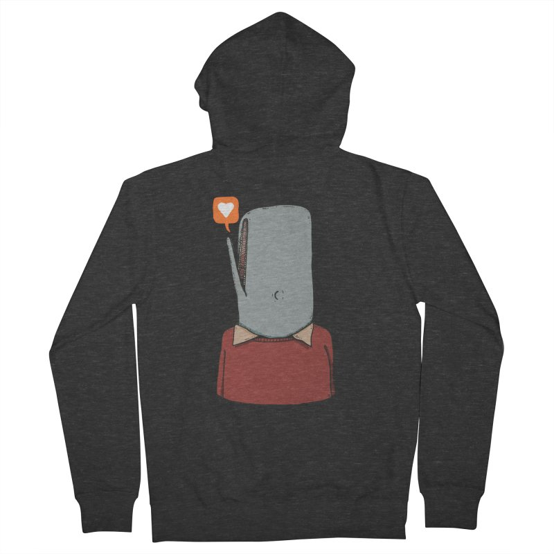 The Love Whale Women's French Terry Zip-Up Hoody by leegrace.com
