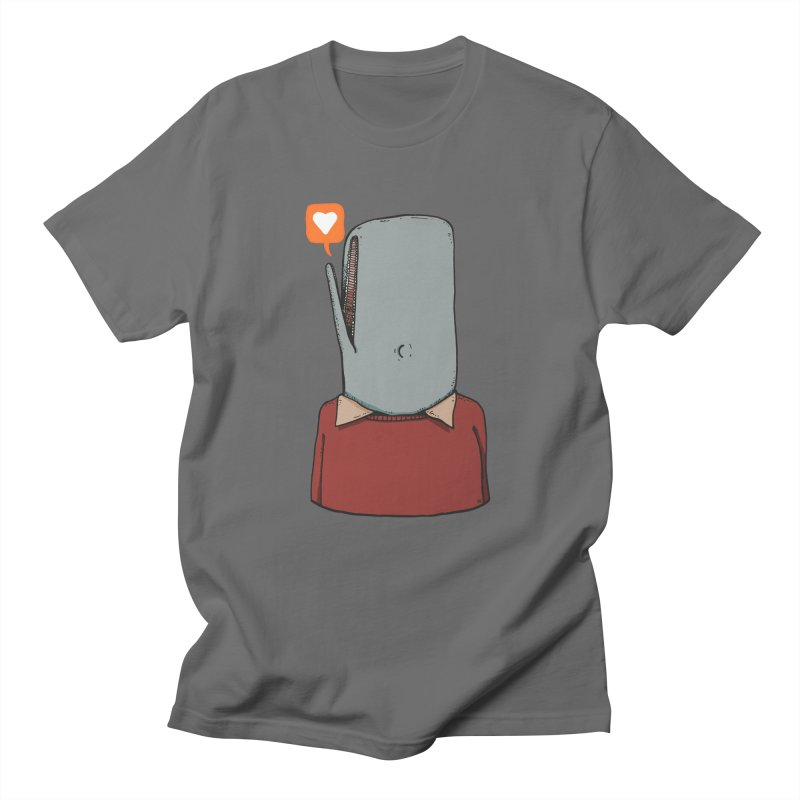 The Love Whale Men's T-Shirt by leegrace.com
