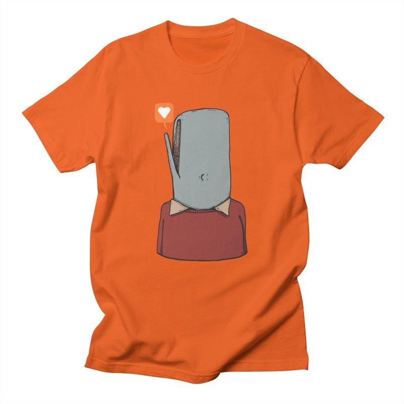 The Love Whale Men's Regular T-Shirt by leegrace.com