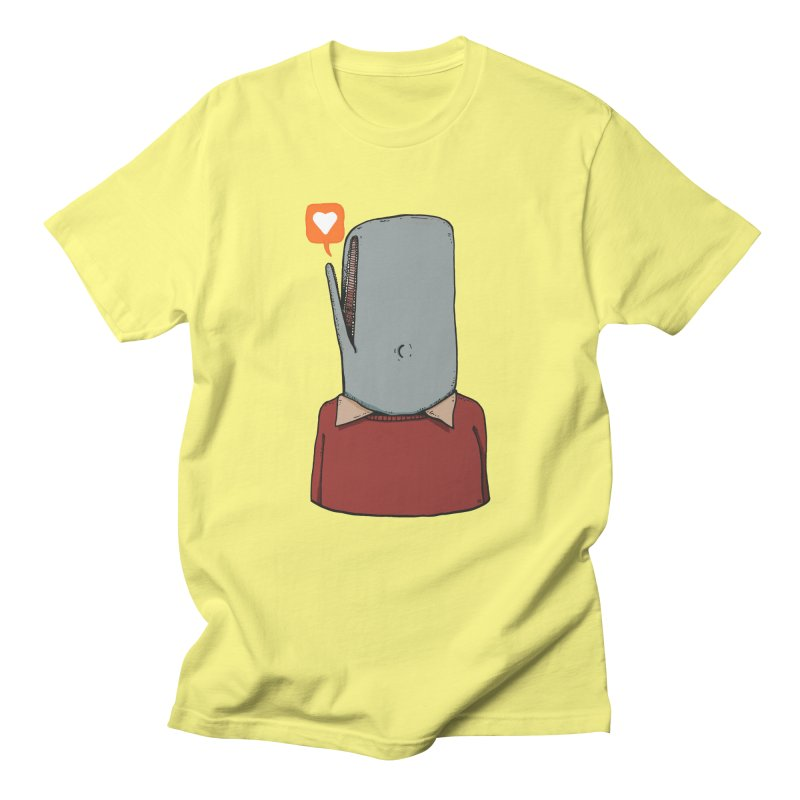 The Love Whale Women's Regular Unisex T-Shirt by leegrace.com