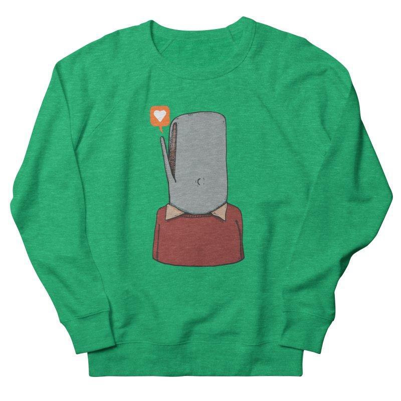 The Love Whale Women's Sweatshirt by leegrace.com