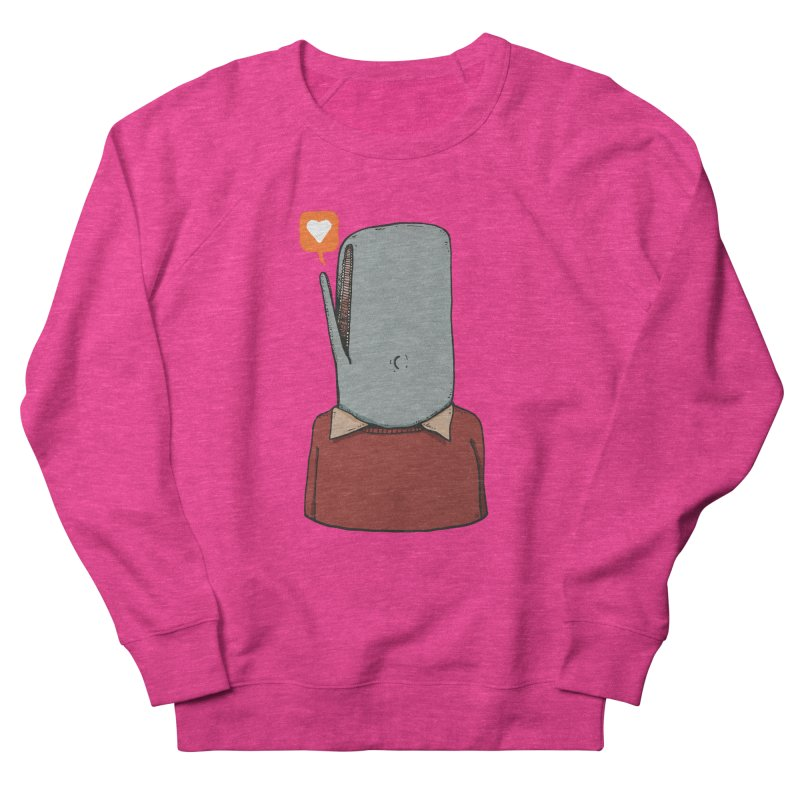 The Love Whale Women's French Terry Sweatshirt by leegrace.com