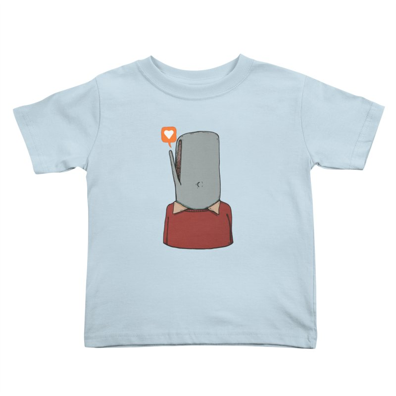 The Love Whale Kids Toddler T-Shirt by leegrace.com