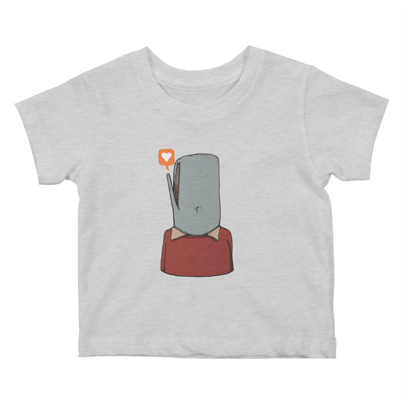 The Love Whale Kids Baby T-Shirt by leegrace.com