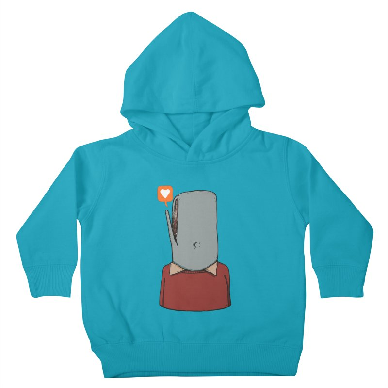The Love Whale Kids Toddler Pullover Hoody by leegrace.com
