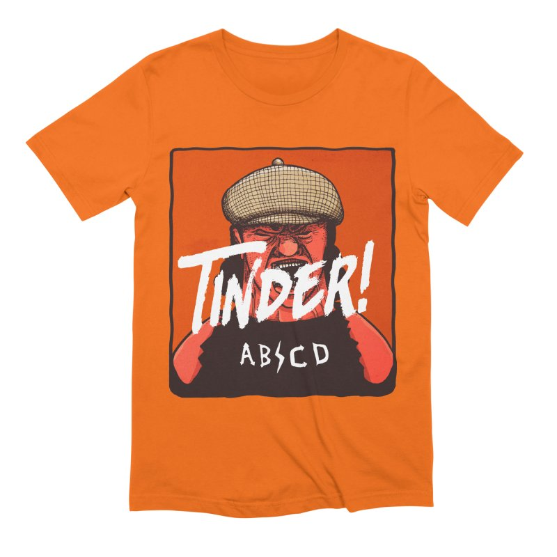 Tinder by ABCD! Men's Extra Soft T-Shirt by leegrace.com