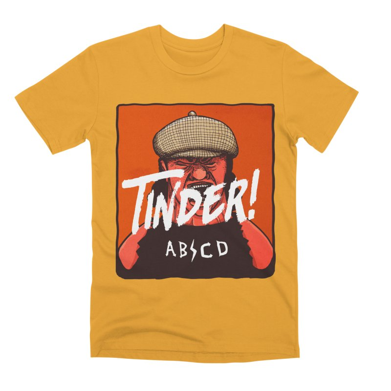 Tinder by ABCD! Men's Premium T-Shirt by leegrace.com