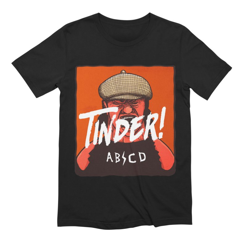 Tinder by ABCD! Men's T-Shirt by leegrace.com