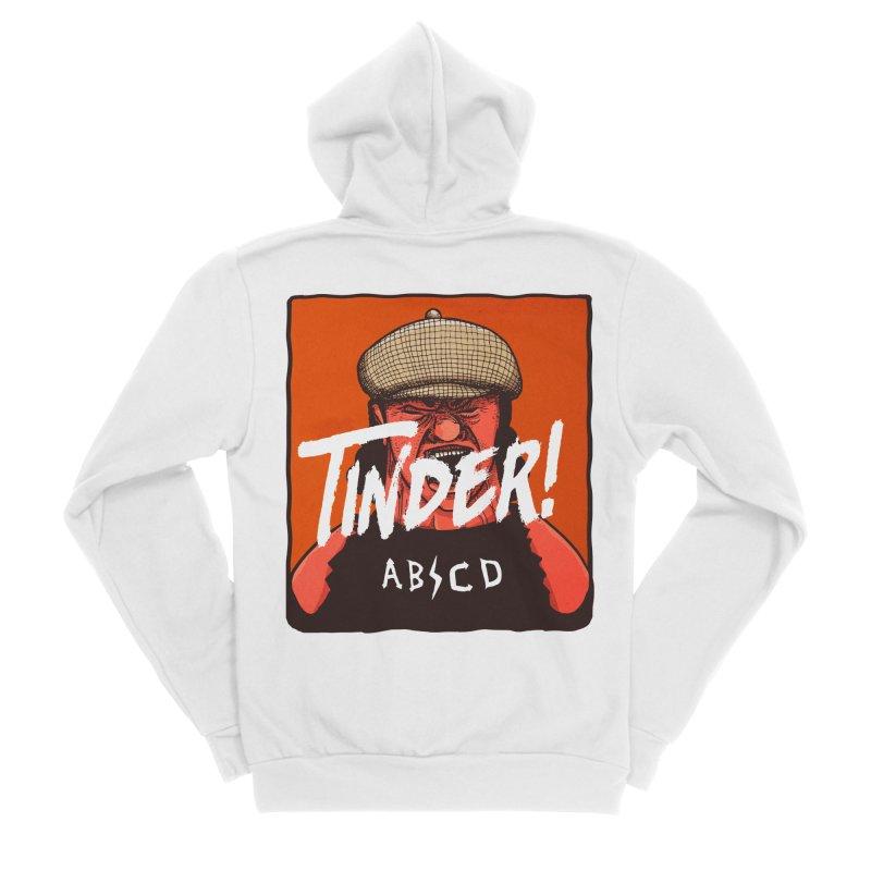 Tinder by ABCD! Men's Sponge Fleece Zip-Up Hoody by leegrace.com